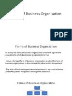 Business  Organization BBA 2nd unit