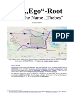 """The """"Ego""""-Root Inside the Name """"Thebes"""""""