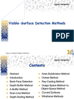 Visible Surface Detection