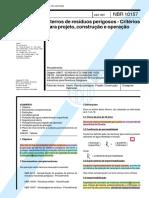 NBR 10.157_1987 - Projeto, Construção e Operação do Classe I.pdf