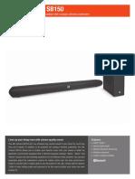 Specification Sheet - SB150 (English).pdf