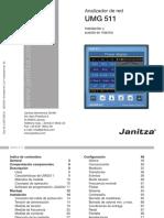 Janitza Manual UMG511 Es