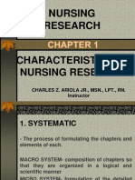 Nursing Research-Chapter I