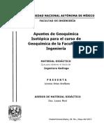 Apuntes de Geoquímica Isotópica Para El Curso de Geoquímica de La Facultad de Ingeniería