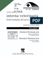 Tratado de Medicina Interna Veterinaria Enfermedades Del Perro y El Gato Vol 1