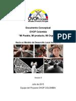Doc Conceptual OVOP Colombia 161202 V12