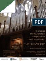Bando Concorso Di Composizione Per Coro e Organo _CAECILIA VIRGO_ 2019