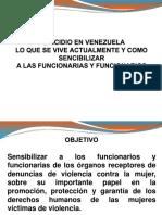 Presentacion Sobre El Femicidio 2019