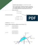 Metodo de Centroide Por Integracion (Funcion Arriba y Debajo)