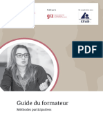 Guide de formateur. Methodes participatives