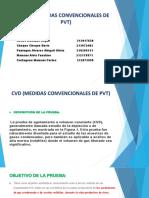 Cvd (Medidas Convencionales de Pvt)-1
