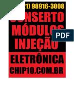 Conserto , Reparo e Manutencao de Modulos Injecao Eltronica , WHATSAPP (21) 98916-3008 R. Libório Viana, 239-207 - Mutuaguaçu São Gonçalo - RJ, 24461-250 -22.807117, -43.039661