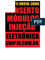 Conserto , Reparo e Manutencao de Modulos Injecao Eltronica WHATSAPP (21) 98916-3008 R. Jaime Figueiredo, 1253 a - Mangueira São Gonçalo - RJ, 24435-400 -22.831030, -43.070596