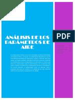 Análisis de Los Parámetros Del Aire