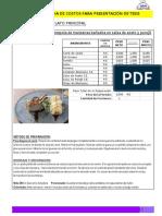 Ficha Tecnica de Alimentos