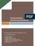 Transtornos neurospiquiátricos