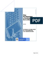 PlanDe Seguridad y Privacidad de la Información