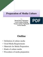 Preparation of Media Culture