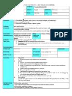 Cefr Lesson Planning (Speaking)