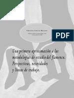Una primera aproximación a las metodologías de estudio del flamenco