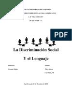 Los Estereotipos Sociolinguisticos