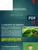 Clase 01 y 02-Evaluación e Impacto Ambiental