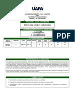 PSGT-104 Psicología Social y Comunitaria