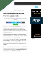 Webmin_ Manual Completo Del Panel de Administración