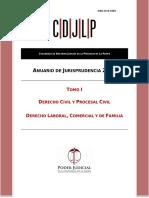 Anuario de Jurisprudencia 2015 - Tomo 1