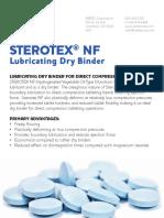 Sterotex Sheet