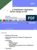 Diagnosing WebSphere Thread Dumps