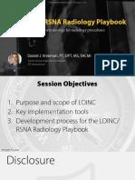 2019 12 - LOINC RSNA Radiology Playbook - RSNA 2019 Version