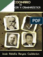 Diccionario de Criminología y Criminalistica