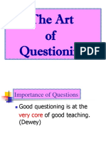 3 the Art of Questioning G