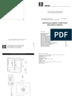 Installation Manual - Tervis Bidirecioanal Lift 2000.