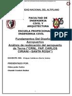 Reubicacion de Airopuerto de Tacna