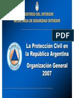 La Proteccion Civil en La Republica Argentina