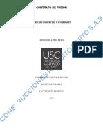 Derecho Comercial y Sociedades Minuta de Fusion Por Absorcion