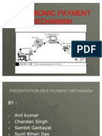 Electronic Payment Mechanism Cr-01