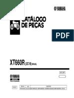 catalogo de peças xt660