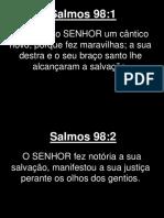 Salmos - 098