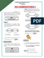 Ejercicios de Analisis Combinatorio Para Cuarto de Secundaria
