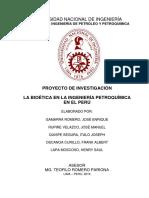 Bioética en La Petroquímica