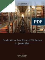 evaluetion fo risk of violence