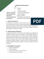 INFORME-PSICOPEDAGÓGICO