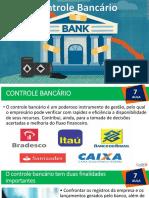 Aula 7 Controle Bancário