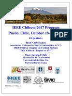 IEEE Chilecon2017 Program Booklet