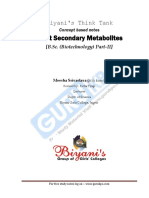 Plant sec metabolites