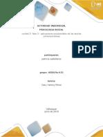 Actividad Individual - Fase 3 - Aplicaciones Psicosociales de Las Teorías Contemporáneas