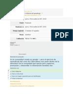 Quiz. Comunidades Virtuales de Conocimiento -CVC